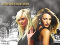 gossip-girl - Blond Bitches with Jenny & Serena wallpaper