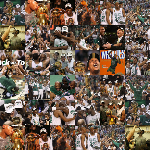 Boston Celtics World Champions 2008