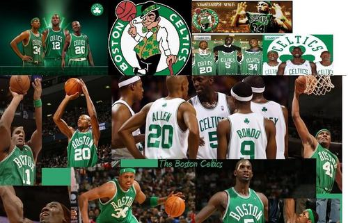 Boston Celtics Hintergrund possibly with a basketball player entitled Boston Celtics!