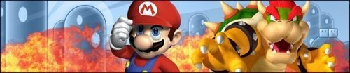 Bowser and Mario