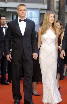 Brad & Jen--2004 Cannes Film Festival