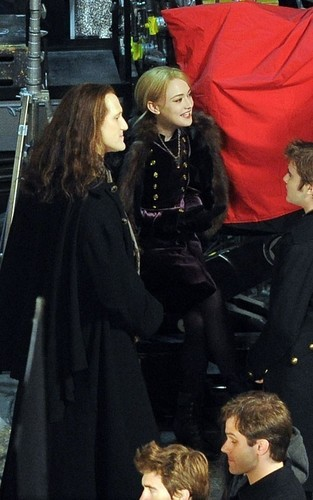 Breaking Dawn set - December 15, 2010 - cameron-bright Photo