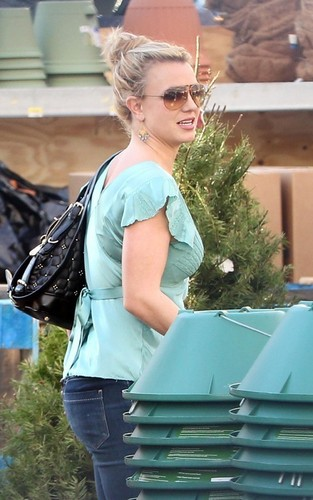 Britney out in Hollywood