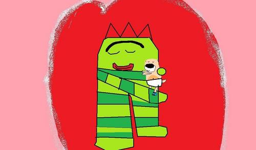 Brobee & মাখন Hug