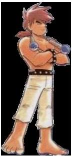 Bruno from Pokemon Adventures