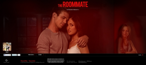 Cam Gigandet The Roommate Promo Stills
