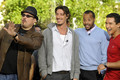 Celebrities Visit Extra - donald-faison photo