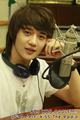 Choi Minho at radio station