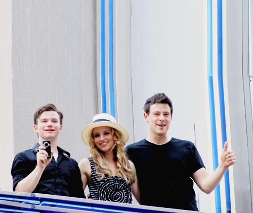 Chris, Dianna and Cory
