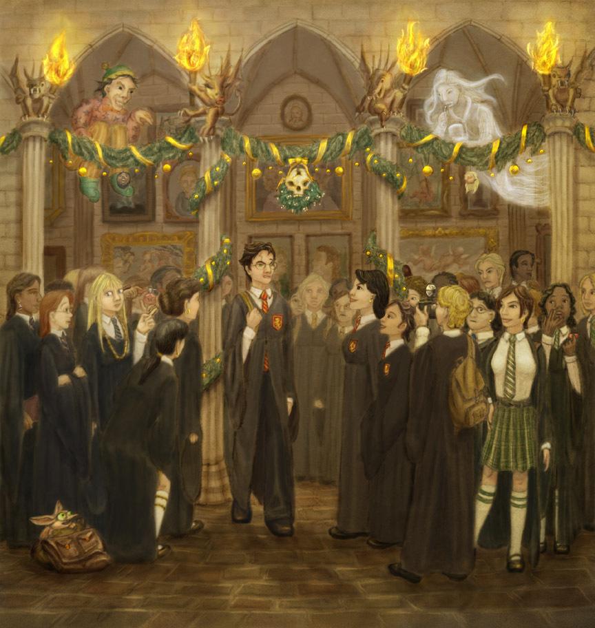크리스마스 at Hogwarts
