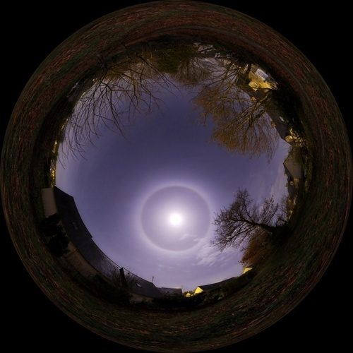 Circle Around the Moon - paganism Photo