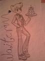 Cute waiter