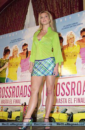 Crossroads Premiere in Mandrid,Spain  March 21st 2002