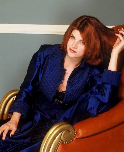 Kirstie Alley wallpaper probably with a well dressed person, an outerwear, and a business suit titled Dana Fineman Photoshoot