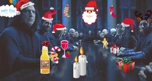 Death-Eater Christmas/End of বছর Party