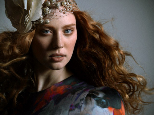 Tunay na Dugo wolpeyper called Deborah Ann Woll for Mark T Beauty - Outtakes