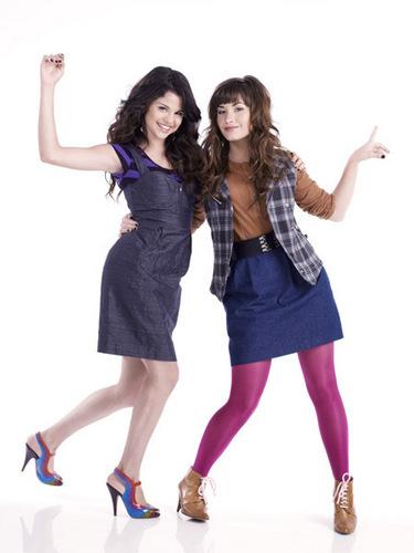 Demi&Selena fotografia