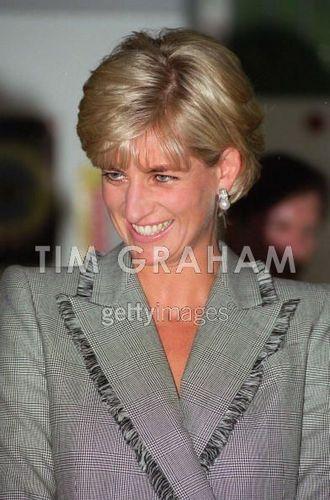 Diana Visits Children Hospital