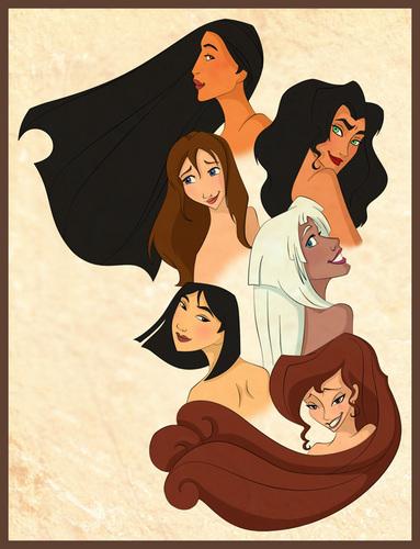 Disney leading ladies
