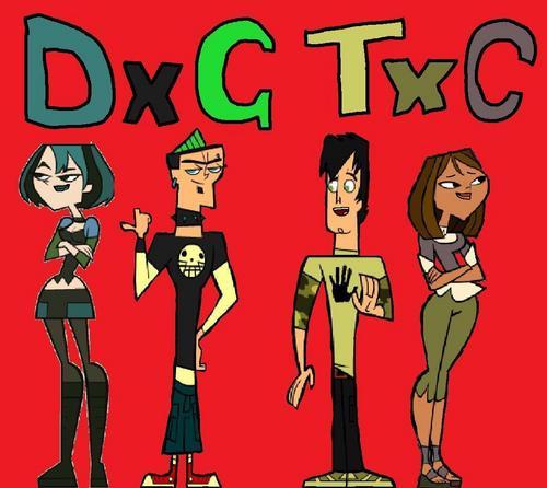 TDI's GwenxDuncan wallpaper with anime titled DxG TxC