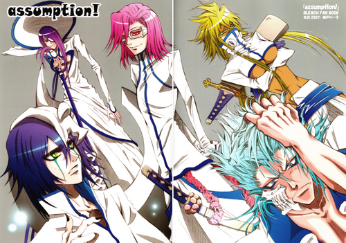 anime bleach wallpaper containing anime titled Espadas