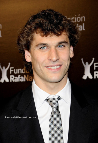 "Fernando Llorente wallpaper containing a business suit entitled Fernando Llorente - ""Rafael Nadal Fundation"" (22.12.2010)"