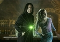 Fighting together - hermione-and-severus photo