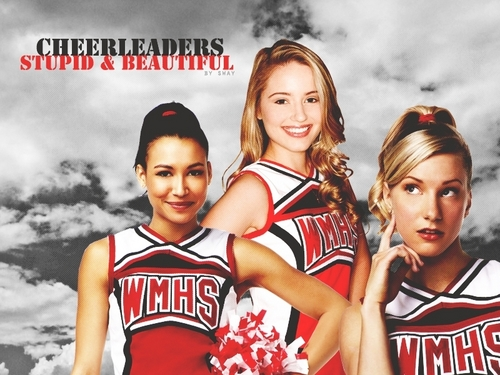 Glee Cheerleaders - glee Wallpaper