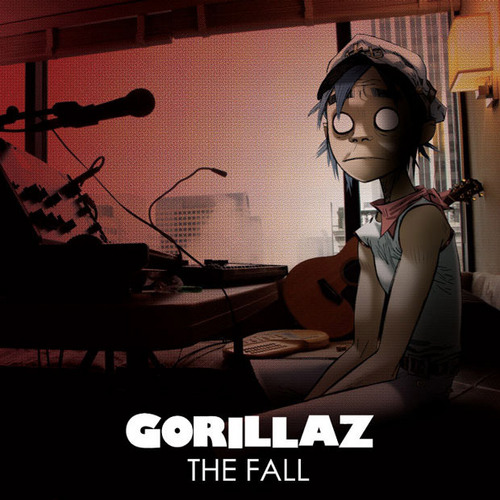 ゴリラズ The Fall NEW ALBUM cover
