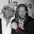 HHH & HBK - triple-h fan art