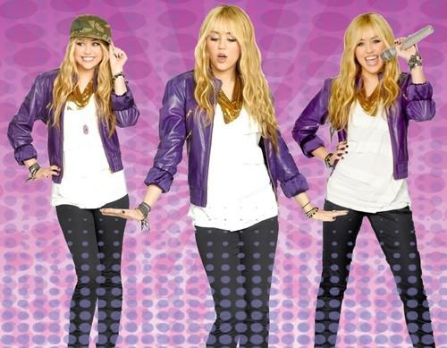 Hannah Montana wallpaper oleh Rodrigo Hannah Montana 4'Ever
