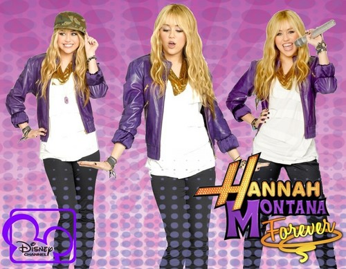 Hannah Montana wallpaper da Rodrigo Hannah Montana 4'Ever