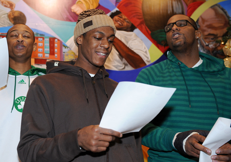 Happy Holidays from Rajon Rondo!