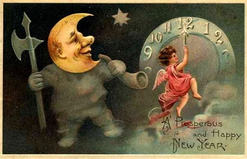 Happy New Year - vintage Screencap