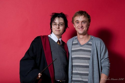 Harry Potter actors attend Magic Christmas fan convention in France