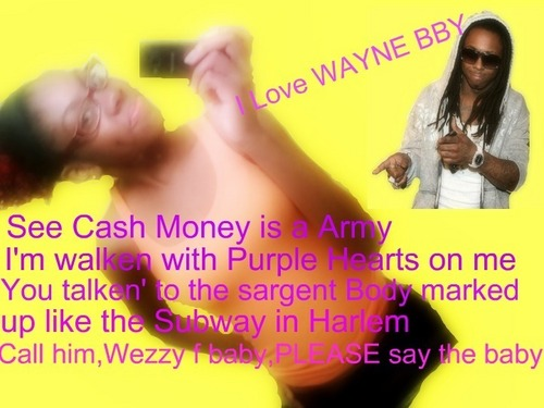 Lil' Wayne wallpaper containing a portrait called I Love Dwayne Michael Carter Jr