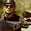 """Jackson """"JAX"""" Teller bức ảnh probably containing a lính mang súng trường, súng trường titled Jax Teller biểu tượng"""