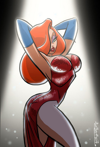 Jessica Rabbit kertas dinding called Jessica Rabbit
