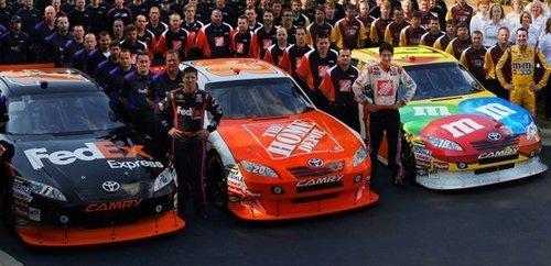 Nascar Images Joe Gibbs Racing Team 2010 Wallpaper And