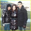 Joe Jonas & Ashley Greene: Green Bay Packers Game with Jessica Szohr! - twilight-series photo