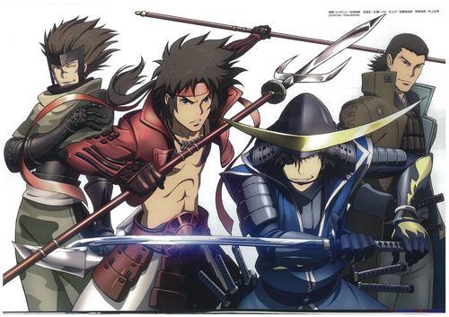 Katakura, Sasuke, Sanada and petsa