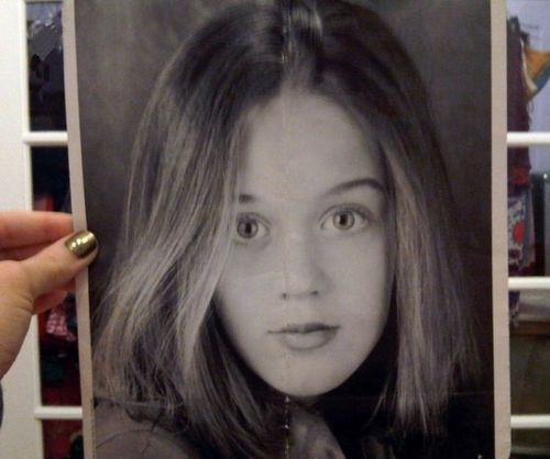 Katy when she was younger