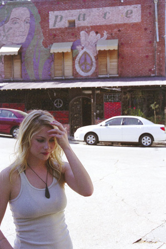 Laura Ramsey wallpaper probably containing a street entitled Laura Ramsey - Stumped Magazine Photoshoot - 2006
