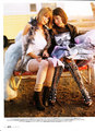 Laura &amp; Jena Malone in Elle Magazine - March 2008 - laura-ramsey photo