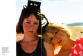 Laura & Jena Malone in Elle Magazine - March 2008 - laura-ramsey photo