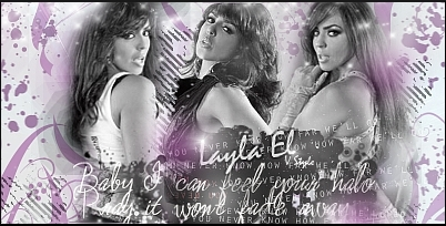 WWE LAYLA wallpaper possibly containing a sign entitled Layla E-l