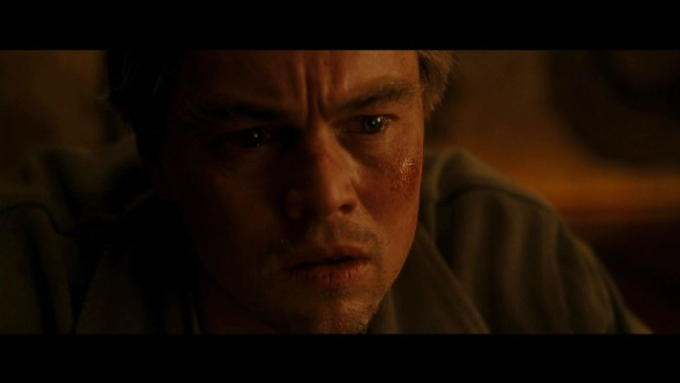 Leonardo DiCaprio as Dom Cobb in  Inception  - Leonardo DiCaprio    Inception Leonardo Dicaprio Squint