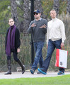 Leonardo DiCaprio spends the day after Christmas at the Los Ange