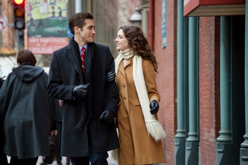 Anne Hathaway and Jake Gyllenhaal wallpaper probably containing a business suit titled Love and Other Drugs Stills