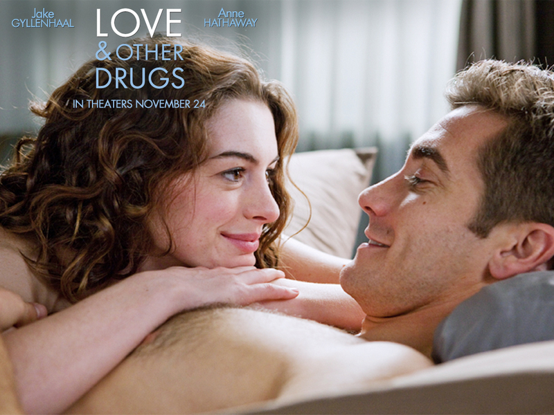 Love and Other Drugs Wall - Anne Hathaway and Jake Gyllenhaal Wallpaper